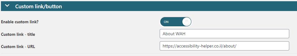 custom link module